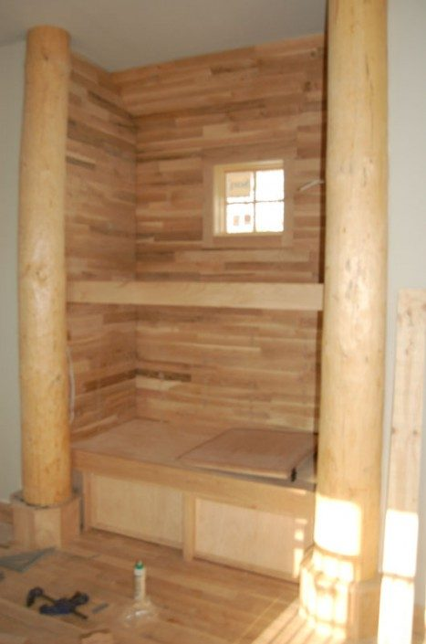 Loft Built-in | Green Home | Asheville NC