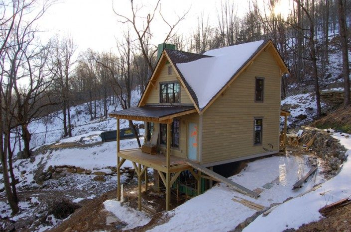 Snow Covered | WNC | Green Home