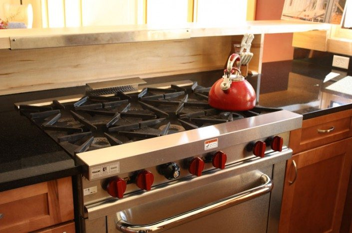 Gas Stove | Green Home | Asheville NC