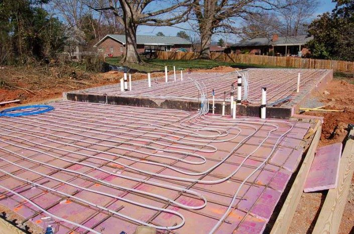 Radiant Heat | Green Home | Asheville NC