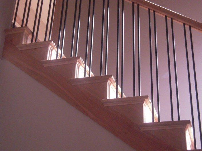 Staircase   Green Home   Asheville NC