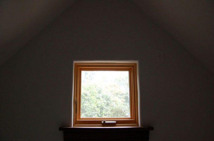 Square Window | Green Home | Asheville NC