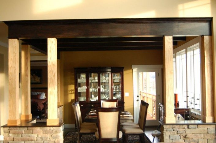 Green Home   Dining Area   WNC