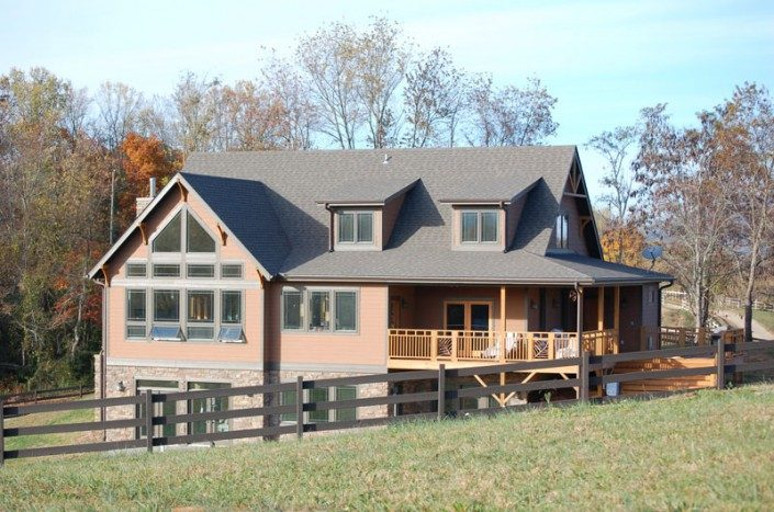 Countryside Home   Green Built   Asheville NC