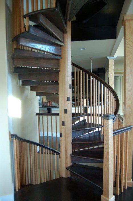 Spiral Staircase   Green Built   NC