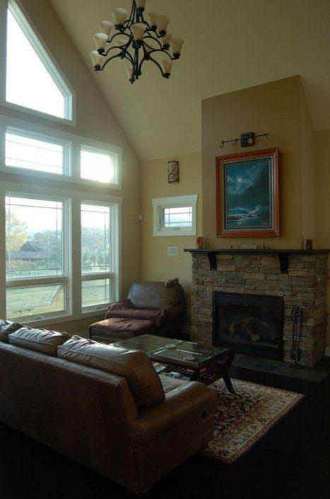Living Room   Asheville NC   Green Home
