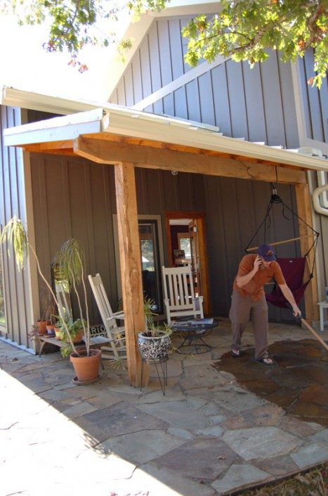 Porch   Sustainable Home   Asheville NC