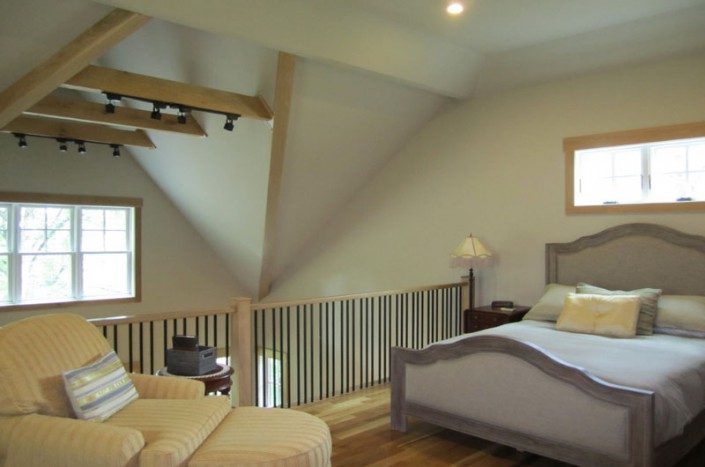 Bedroom Loft | Sustainable Home | Asheville