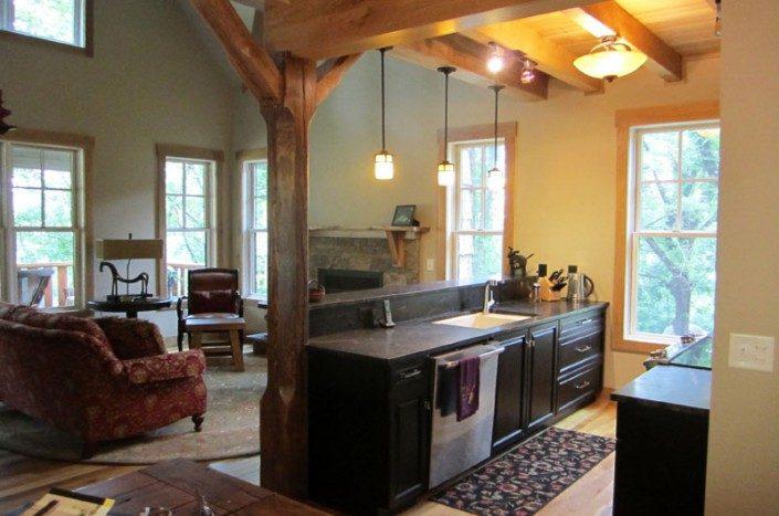 Interior Full View | Green Home | Asheville
