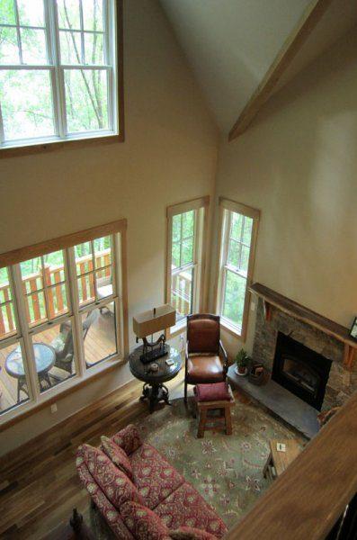 Living Room | Green House | Asheville NC