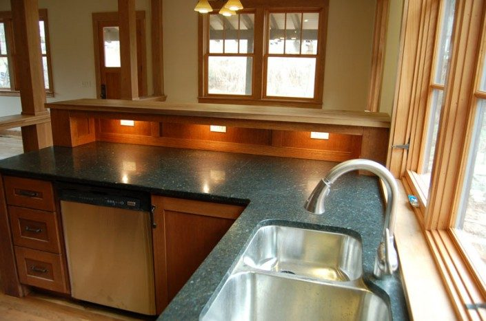 Kitchen Sink | Asheville NC | Green Built