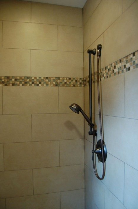 Shower Detail | Green Built | Jade Mountain Builders