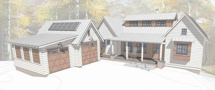 Farmhouse timber sovereign oaks contemporary
